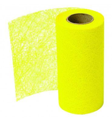 Ruban intissé jaune