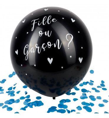 """Ballon Géant """"Fille ou..."""