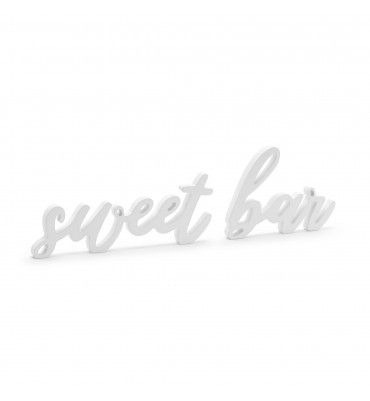 "Inscription en bois ""sweet..."