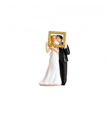 Figurine cadre photobooth or