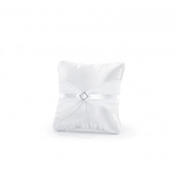 Coussin alliances satin...