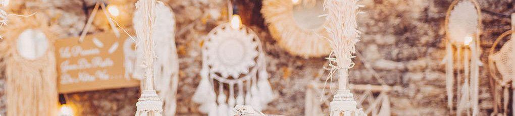 Trouvez toute la décoration de votre salle de mariage